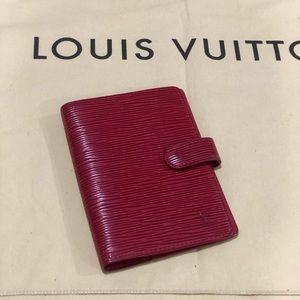 Louis Vuitton Red Epi
